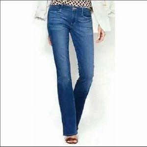 Earnest Sewn Midling Blue Hefner Bootcut Jeans